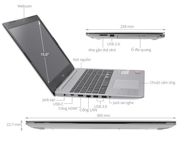 Laptop Inspiron 5570
