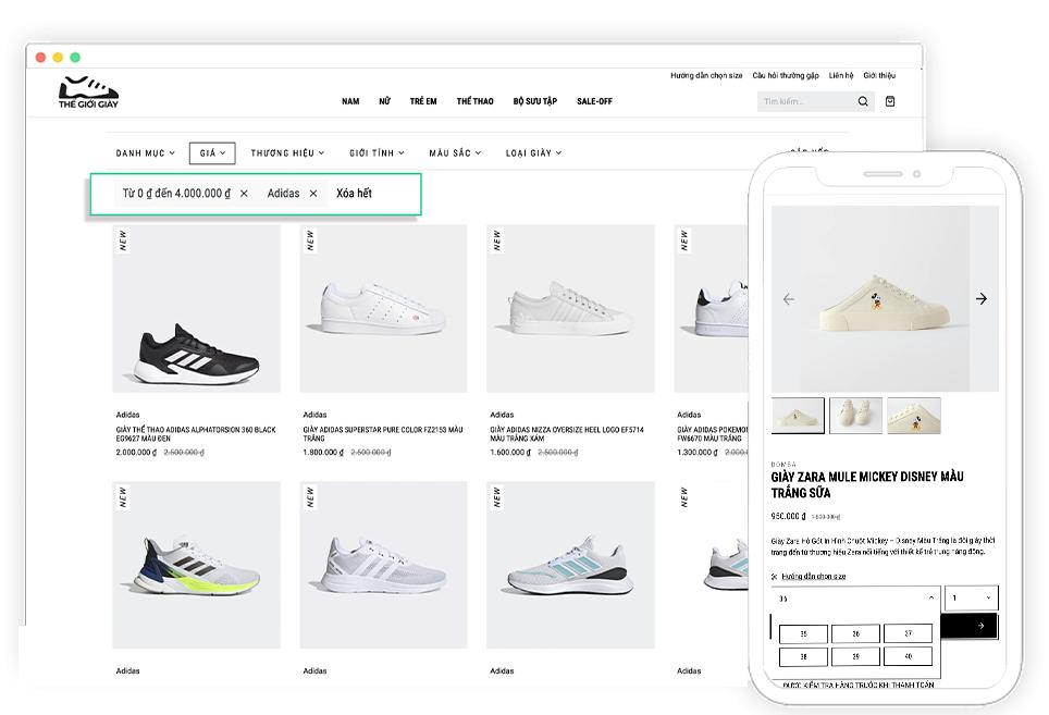 Shopbay tính năng