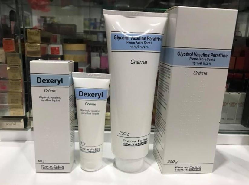 Kem dưỡng da Dexeryl phù hợp với những bạn da mặt đang bị khô nẻ