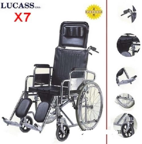Xe lăn Lucass X7