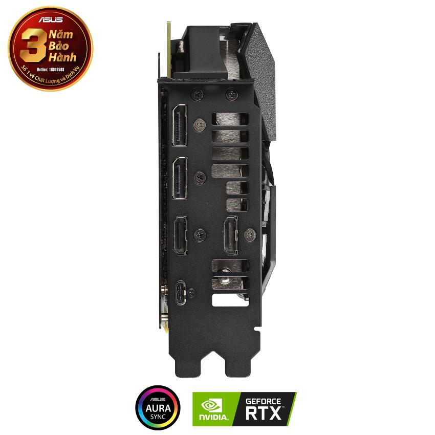 Card màn hình ASUS ROG STRIX RTX 2060 -O8G EVO GAMING (8GB GDDR6, 256-bit,HDMI+DP, 1x6-pin + 1x8-pin) V2