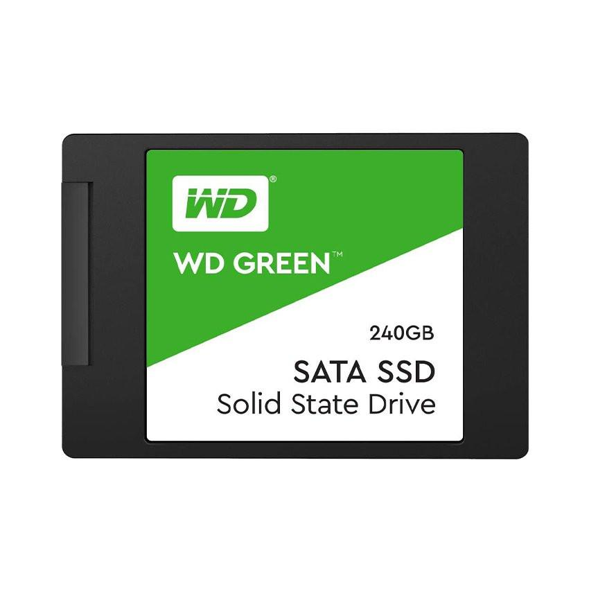 Ổ cứng SSD WD Green 240GB SATA 2.5 inch (Đọc 545MB/s - Ghi 465MB/s) - (WDS240G2G0A)