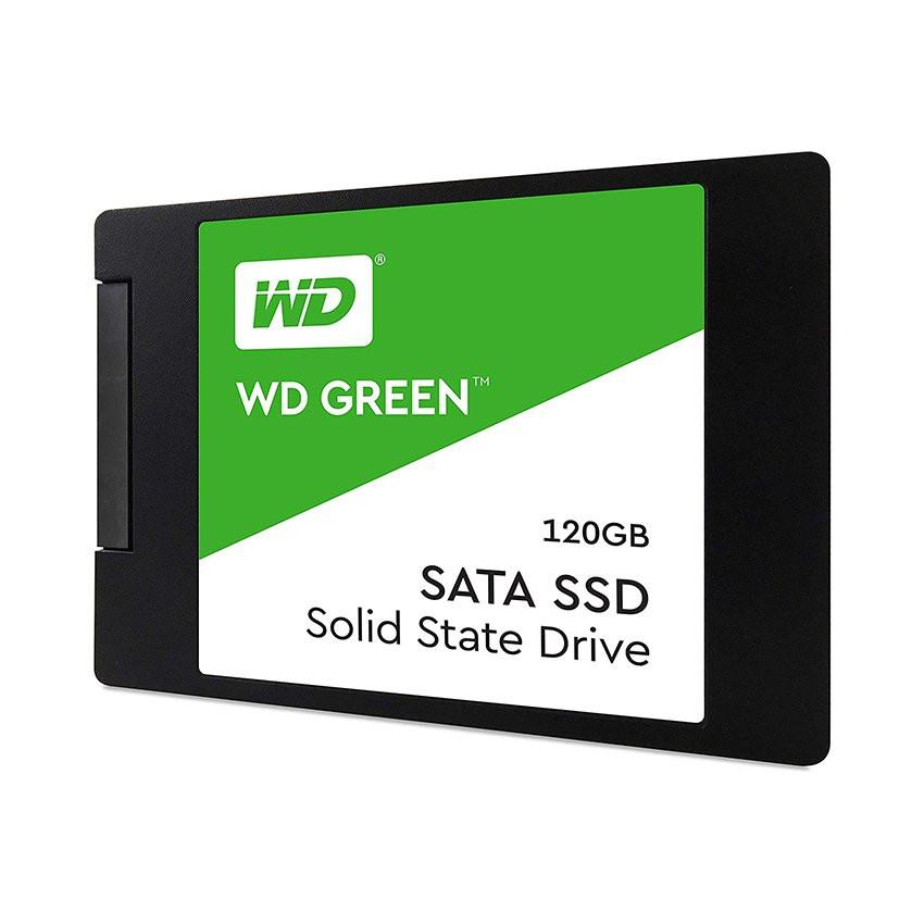 Ổ cứng SSD WD Green 120GB SATA 2.5 inch (Đọc 545MB/s - Ghi 430MB/s) - (WDS120G2G0A)