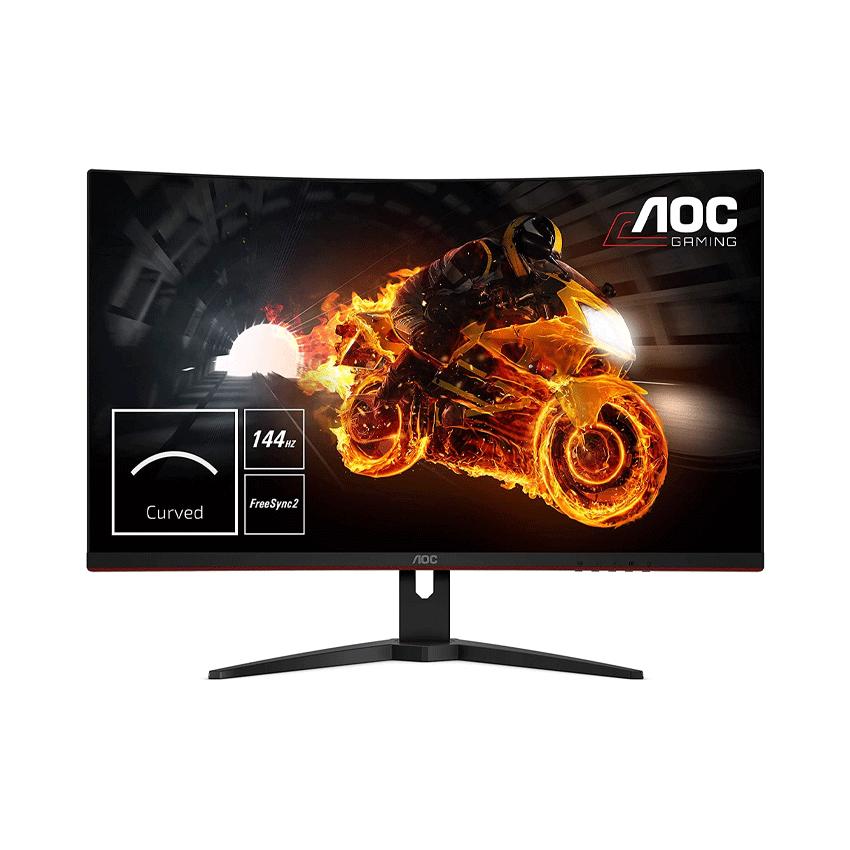 Màn hình AOC C27G1/74 (27 inch/FHD/VA/144Hz/1ms/250 nits/HDMI+DP+VGA/Cong)