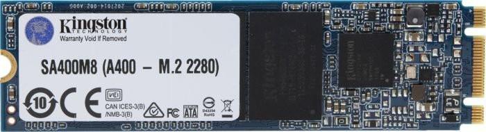 Ổ cứng SSD Kingston A400 120G M.2 2280 (Đọc 500MB/s - Ghi 320MB/s) - (SA400M8/120G)