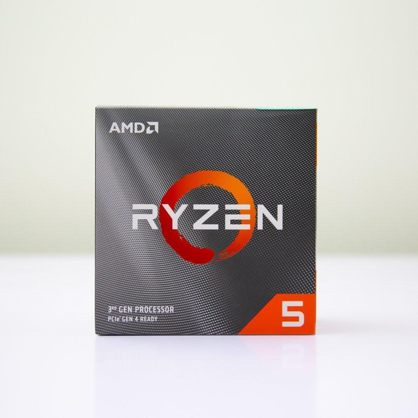 CPU AMD Ryzen 5 3600 (3.6GHz turbo up to 4.2GHz, 6 nhân 12 luồng, 35MB Cache, 65W) - Socket AMD AM4