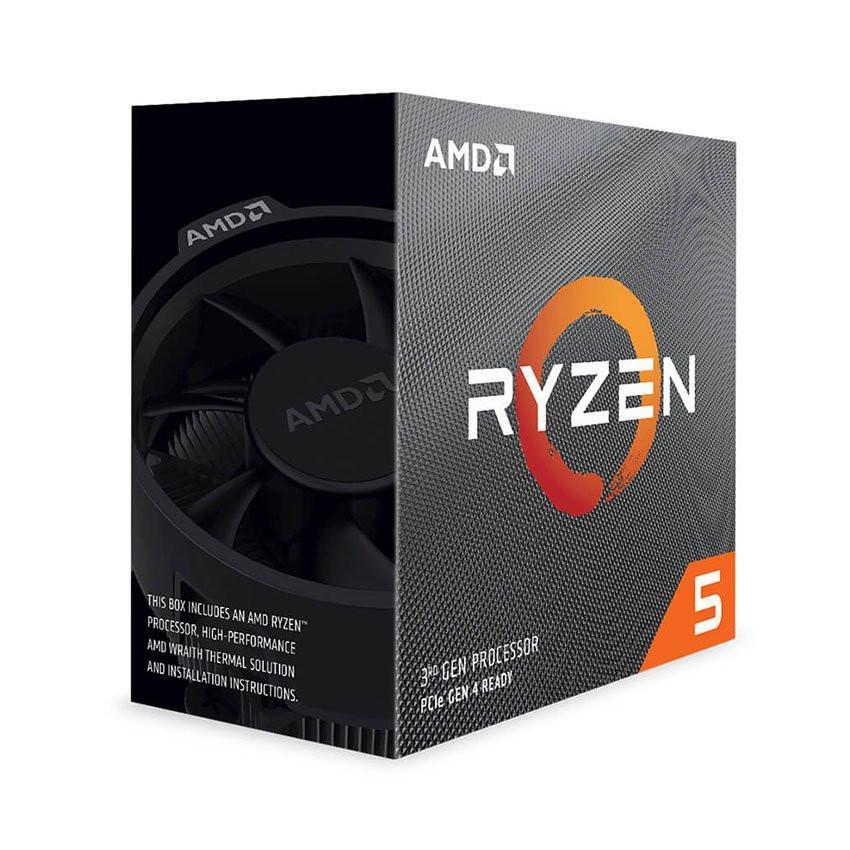 CPU AMD Ryzen 5 3400G (3.7GHz turbo up to 4.2GHz, 4 nhân 8 luồng, 4MB Cache, Radeon Vega 11, 65W) - Socket AMD AM4