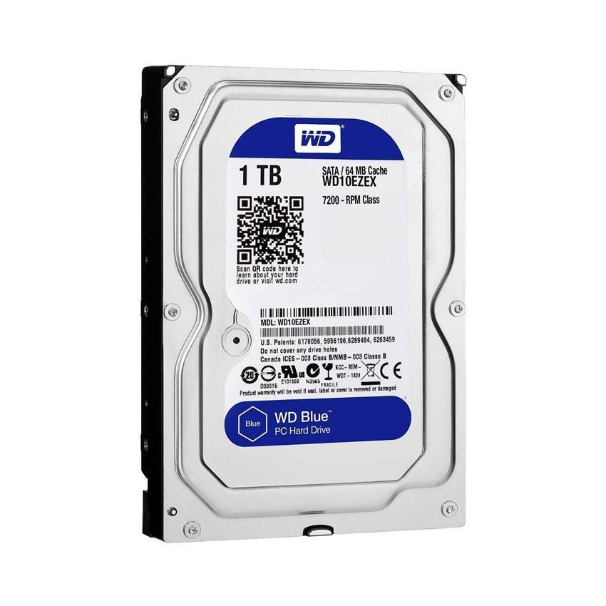 Ổ cứng HDD Western Caviar Blue 1TB 3.5 inch 7200RPM, SATA3 6Gb/s, 64MB Cache