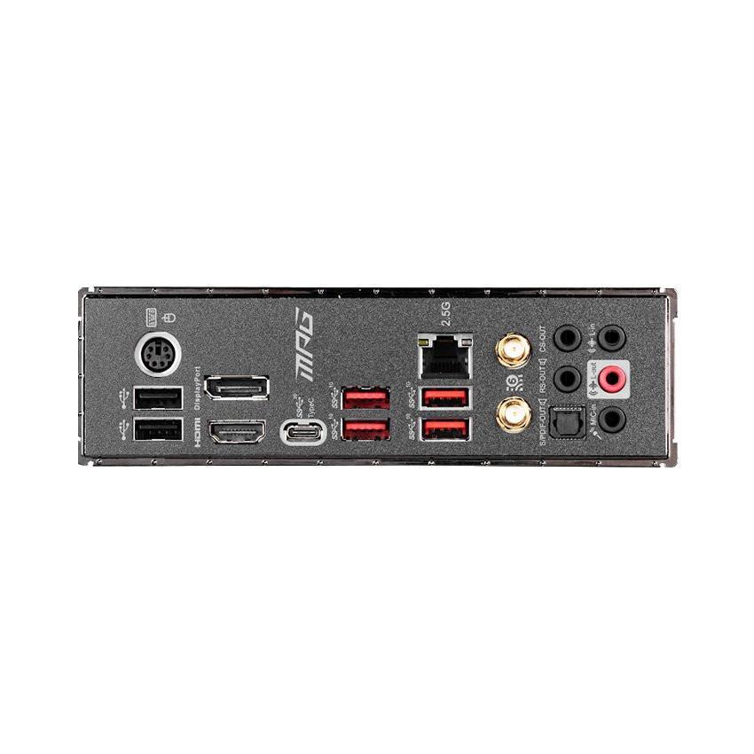 Mainboard MSI MPG Z490 GAMING CARBON WIFI (Intel Z490, Socket 1200, ATX, 4 khe RAM DDR4)