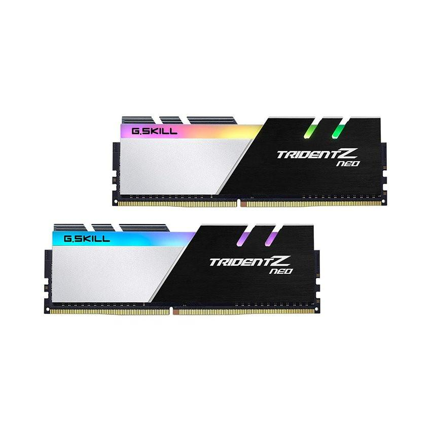 Ram Desktop Gskill Trident Z Neo RGB (F4-3600C18D-32GTZN) 32GB (2x16GB) DDR4 3600MHz