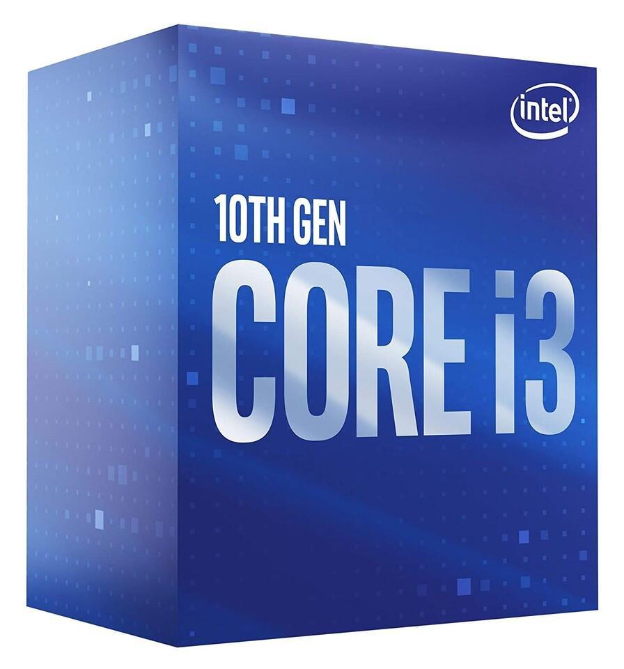 CPU Intel Core i3-10100F (3.6GHz turbo up to 4.3Ghz, 4 nhân 8 luồng, 6MB Cache, 65W) - Socket Intel LGA 1200