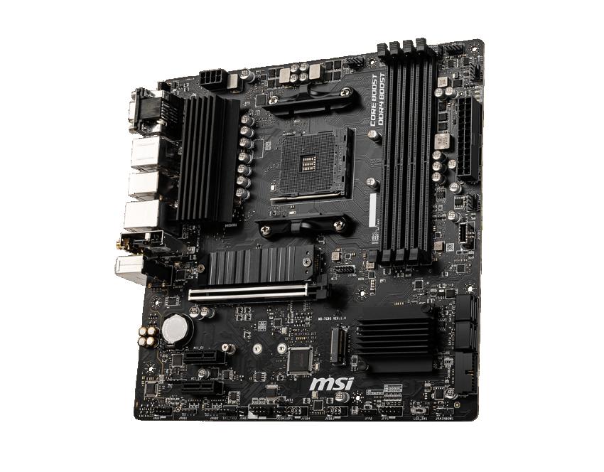 Mainboard MSI B550M PRO-VHD WIFI (AMD B550, Socket AM4, m-ATX, 4 khe RAM DRR4)