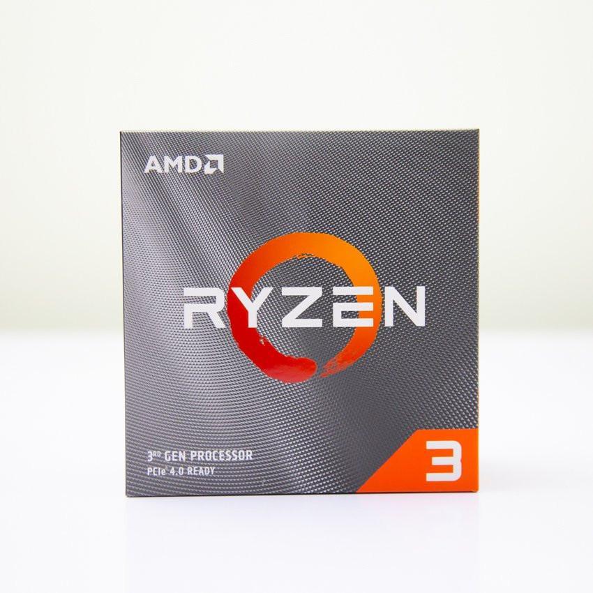 CPU AMD Ryzen 3 3100 (3.6GHz turbo up to 3.9GHz, 4 nhân 8 luồng, 16MB Cache, 65W) - Socket AMD AM4