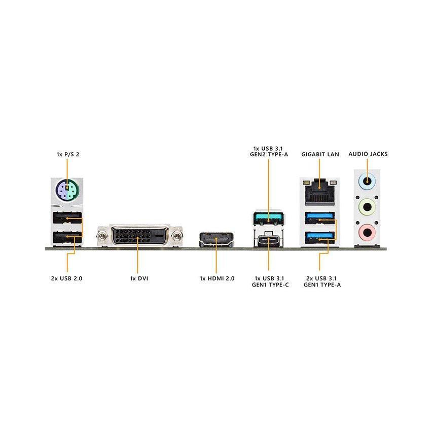 Mainboard ASUS TUF B450M-PLUS GAMING (AMD B450, Socket AM4, m-ATX, 4 khe RAM DDR4)