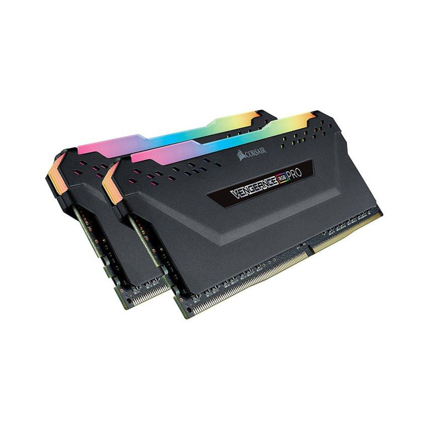 RAM Desktop CORSAIR Vengeance PRO RGB (CMW32GX4M2D3000C16) 32GB (2x16GB) DDR4 3000MHz