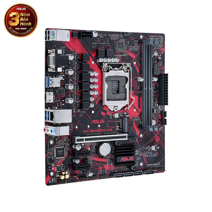 Mainboard ASUS EX-B460M-V5 (Intel B460, Socket 1200, m-ATX, 2 khe Ram DDR4)