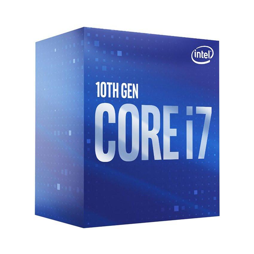 CPU Intel Core i7-10700F (2.9GHz turbo up to 4.8GHz, 8 nhân 16 luồng, 16MB Cache, 65W) - Socket Intel LGA 1200