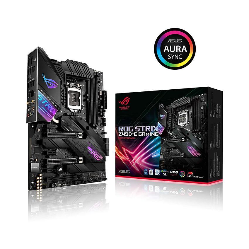 Mainboard ASUS ROG STRIX Z490-E GAMING (Intel Z490, Socket 1200, ATX, 4 khe RAM DDR4)