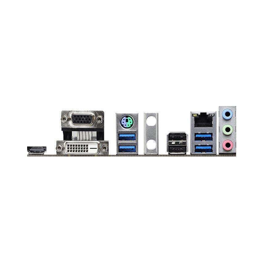Mainboard ASROCK B460M-HDV (Intel B460, Socket 1200, m-ATX, 2 khe Ram DDR4)