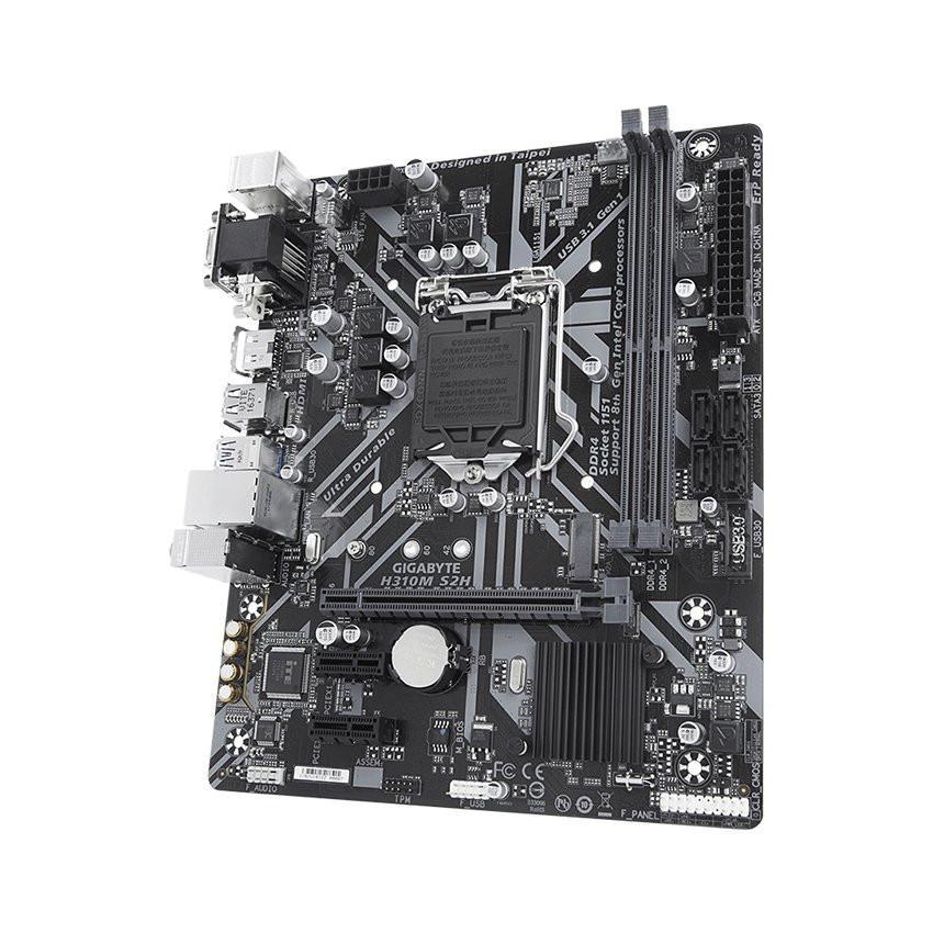 Mainboard GIGABYTE H310M-S2H (Intel H310, Socket 1151, m-ATX, 2 khe RAM DDR4)