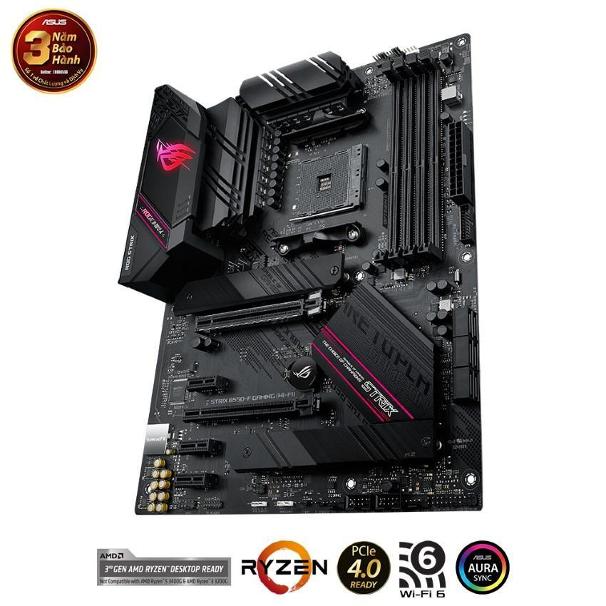 Mainboard ASUS ROG STRIX B550-F GAMING (WI-FI) (AMD B550, Socket AM4, ATX, 4 khe RAM DRR4)