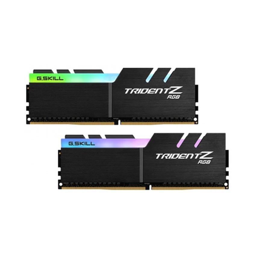 RAM Desktop Gskill Trident Z RGB (F4-3000C16D-16GTZR) 16GB (2x8GB) DDR4 3000MHz