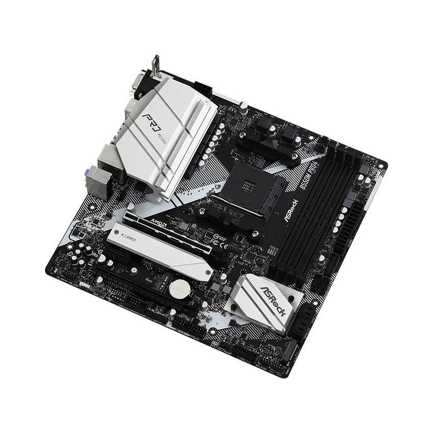 Mainboard ASROCK B550M PRO4 (AMD B550, Socket AM4, m-ATX, 4 khe RAM DDR4)
