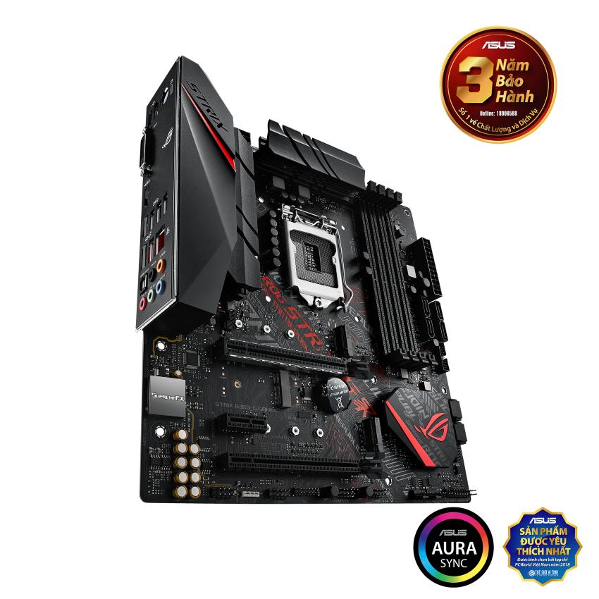 Mainboard ASUS ROG STRIX B365-G GAMING (Intel B365 , Socket 1151, m-ATX, 4 khe RAM DDR4)