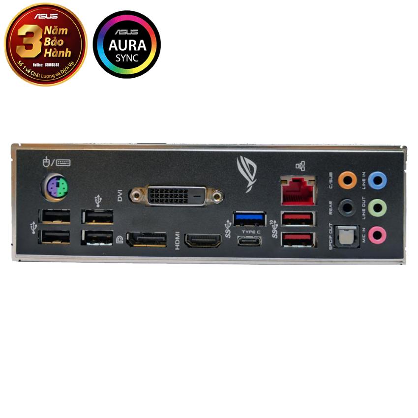 Mainboard ASUS ROG STRIX B365-F GAMING (Intel B365, Socket 1151, ATX, 4 khe RAM DDR4)