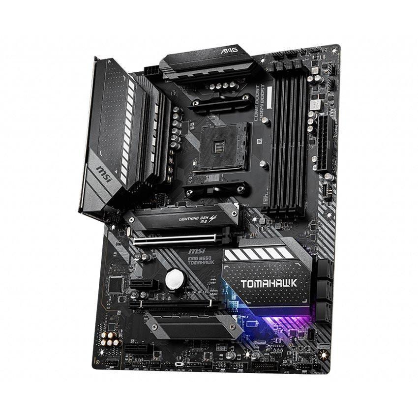 Mainboard MSI MAG B550 TOMAHAWK (AMD B550, Socket AM4, ATX, 4 khe RAM DDR4)