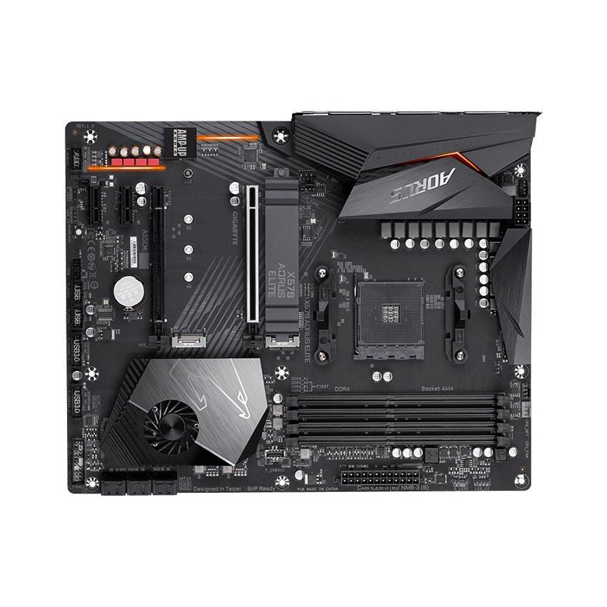 Mainboard GIGABYTE X570 AORUS ELITE (AMD X570, Socket AM4, ATX, 4 khe RAM DDR4)