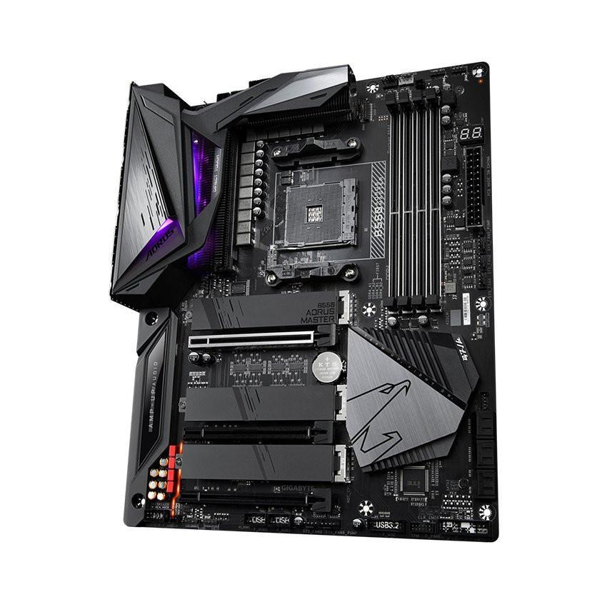 Mainboard Gigabyte B550 AORUS MASTER (AMD B550, Socket AM4, m-ATX, 4 khe RAM DDR4)