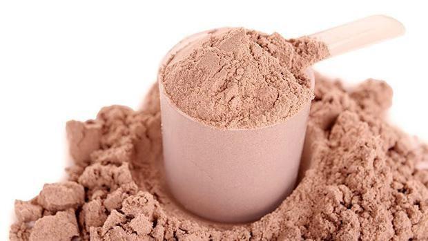Muỗng whey protein