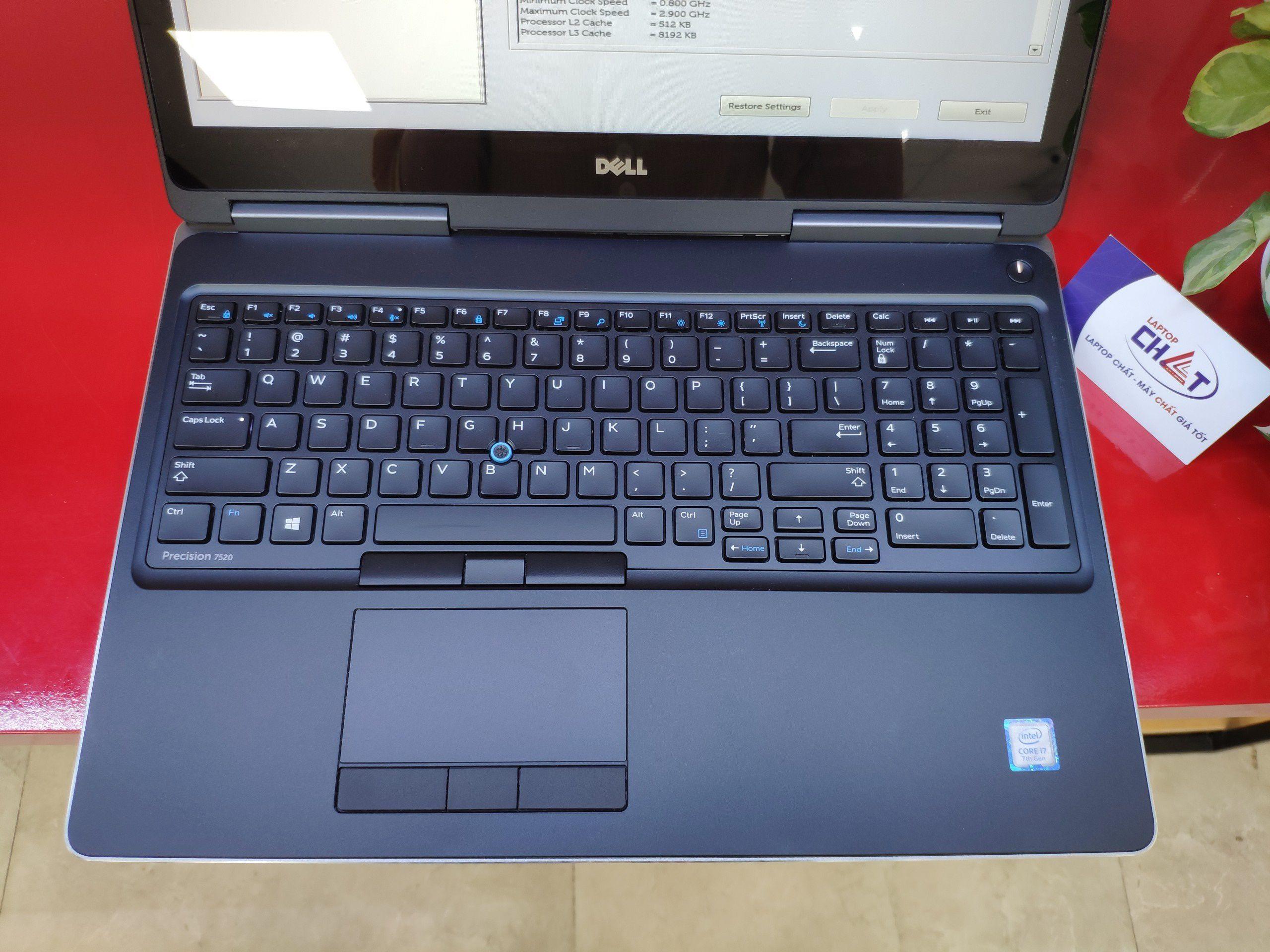 Dell Precision 7520 màn cảm ứng mới 99%