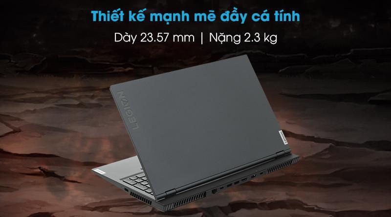 Lenovo Legion 5 15IMH05 (82AU00CGUS) i7-10750H, RAM 8G, SSD 512G, VGA Nvidia GTX 1650Ti, 15.6 Full HD IPS, 120Hz