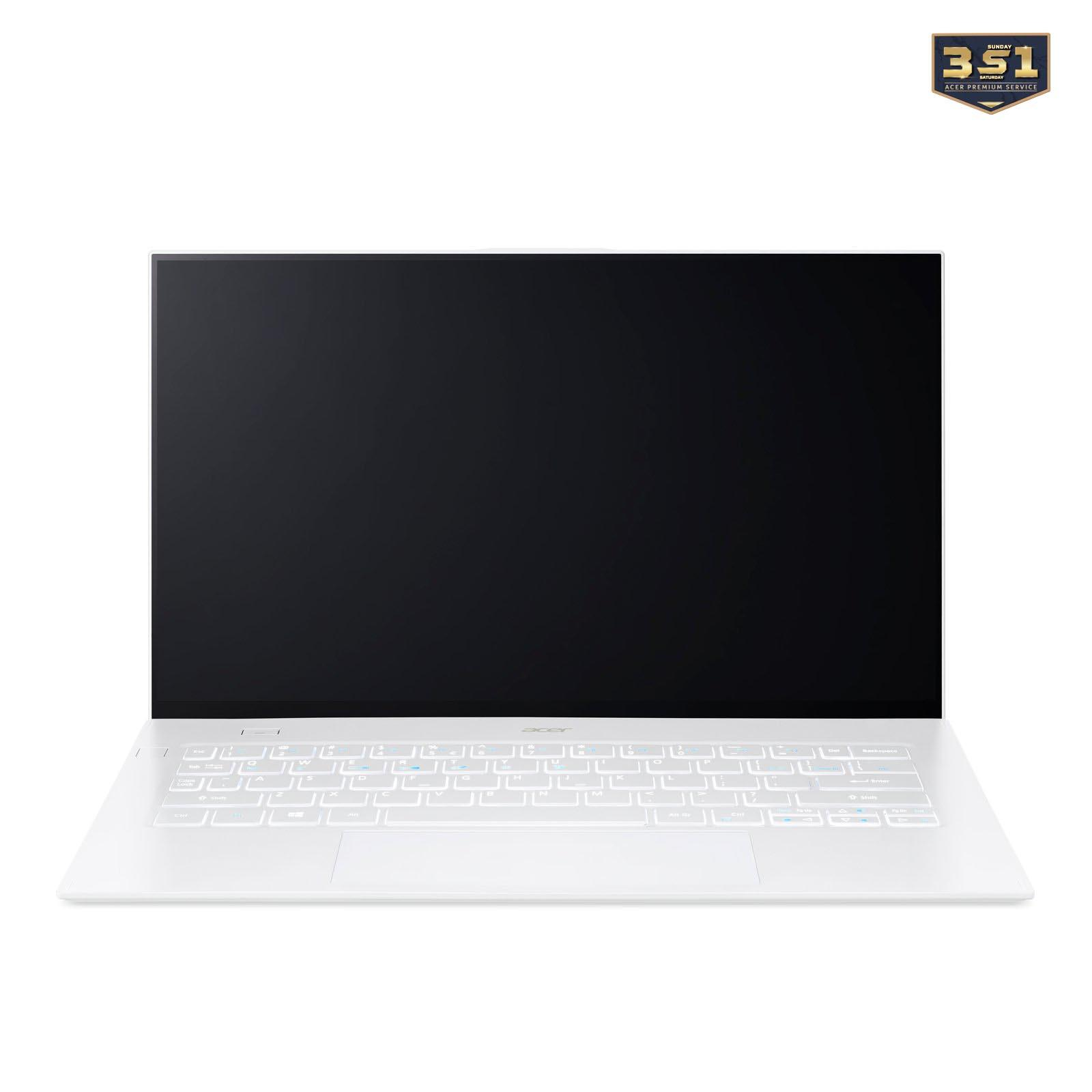 Laptop ACer Swift 7 SF714-52T-710F (i7 8500Y/16GB RAM/512GB SSD/14.0FHDT/Win10/Trắng)