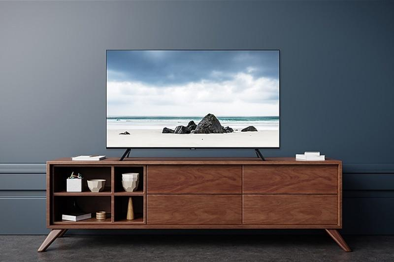Smart Tivi Samsung 4K 55 inch 55TU8100 Crystal UHD