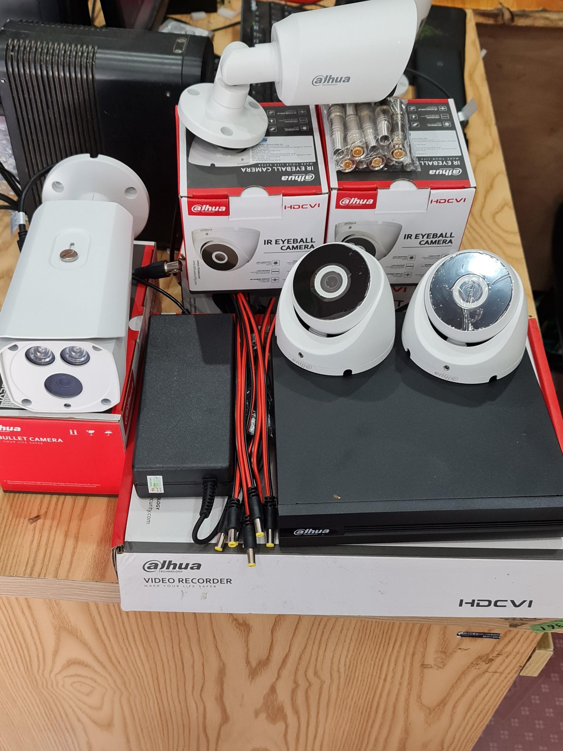 Lắp đặt trọn bộ 3 camera 1080P