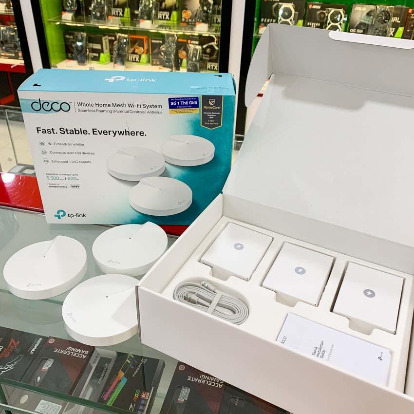 Bộ phát wifi mesh TP-Link Deco M5 3-Pack