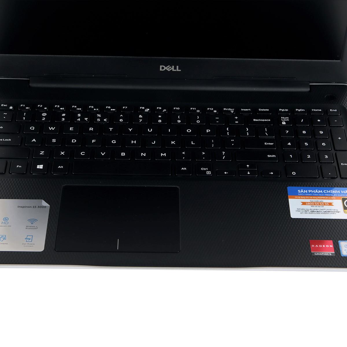 Laptop Dell Inspiron N3580 i5 8265U/4GB/256GB/R5 520 2GB/Win10 (P75F106N80I)