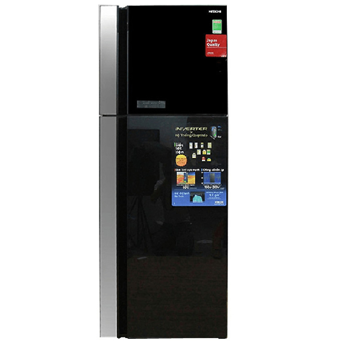 Tủ lạnh Hitachi Inverter R-FG560PGV8 (GBK) - 450 lít