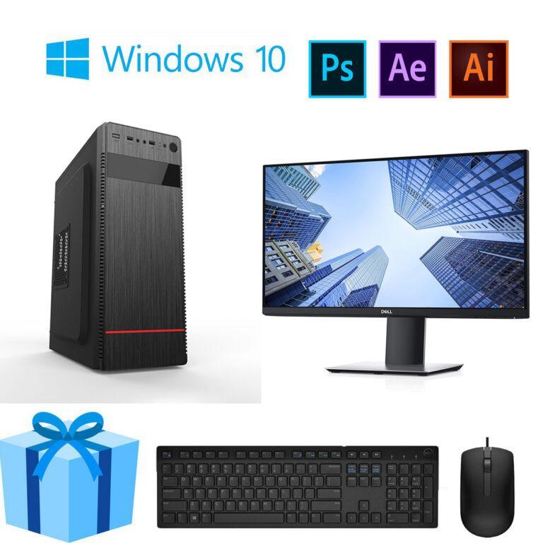 Bộ PC Office MH Core i3 10100 Ram 8G Màn Hình 20inch