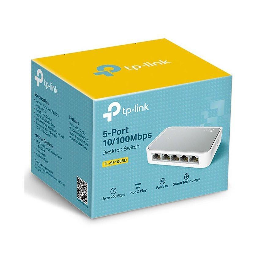 Switch TP-Link TL-SF1005D (5Port 10/100Mbps - Vỏ nhựa)