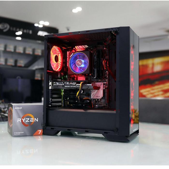 PC Workstation AMD Ryzen 5 3600/8GB/ GTX 1650-4GB