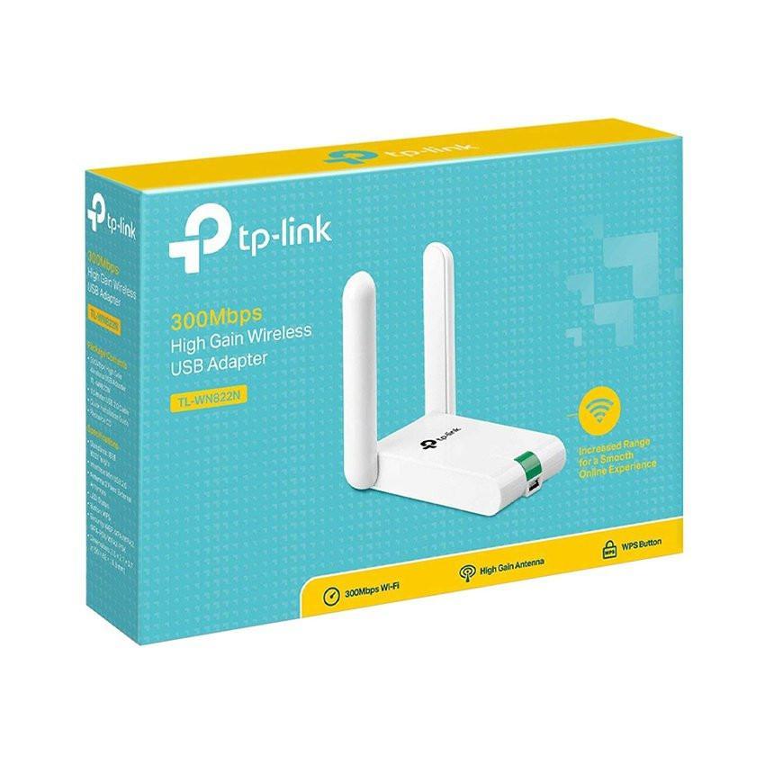 Card mạng không dây USB TP-Link TL-WN822N Wireless 300Mbps