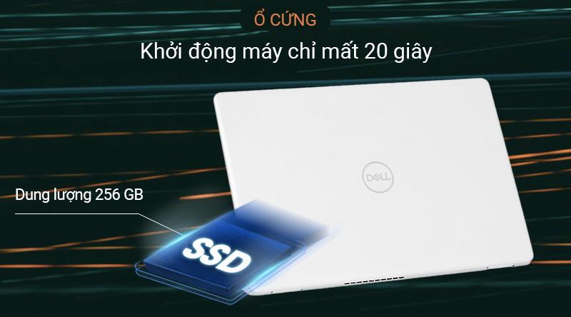 Laptop Dell Inspiron 3581 có thể lưu được một lượng lớn tài liệu