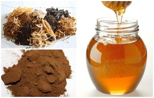 Mật ong kết hợp với thuốc bắc sẽ cho bạn một loại mặt nạ làm trắng da hiệu quả, cải thiện làn da khô ráp