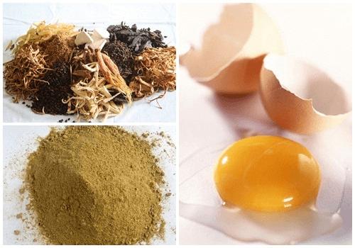 Thuốc bắc và trứng gà khi kết hợp với nhau sẽ tạo thành mặt nạ dưỡng trắng hiệu quả