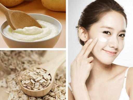 Yến mạch với khả năng làm sạch dịu nhẹ sẽ không gây tổn hại tới da mặt của bạn