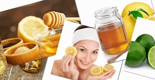 Nước cốt chanh và mật ong giúp kiểm soát dầu, làm sáng màu da, se mụn